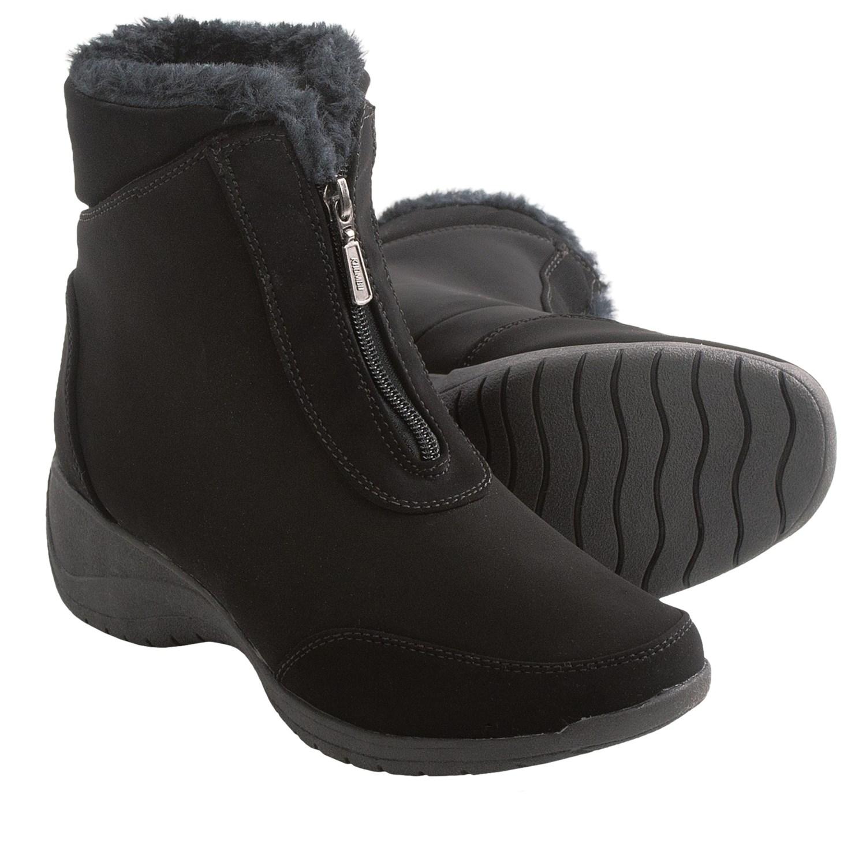 Ladies Zip Up Snow Boots | Homewood Mountain Ski Resort