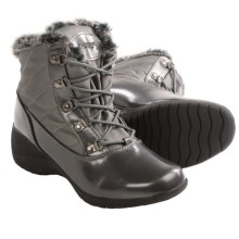 Khombu Lisa Snow Boots - Waterproof, Insulated (For Women) in Pewter - Closeouts