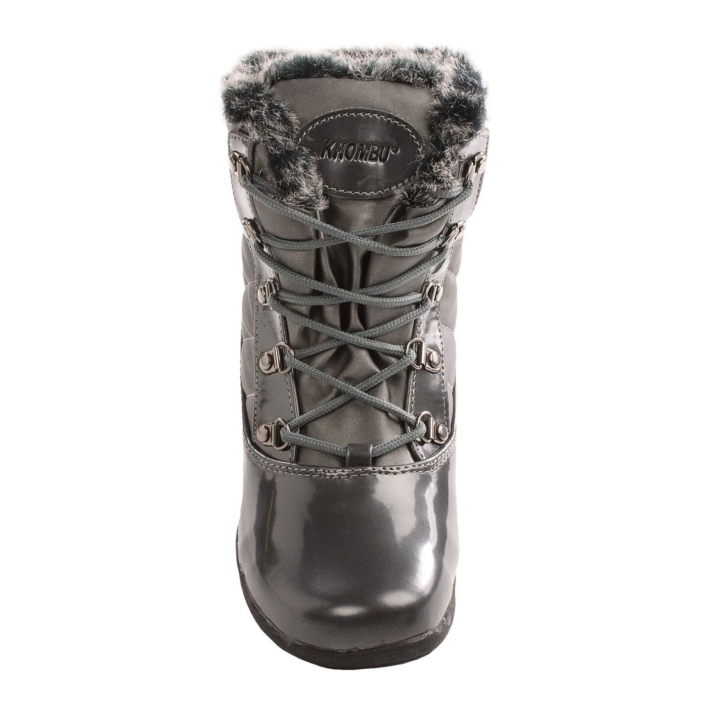 Khombu Lisa Snow Boots For Women 7682r Save 69