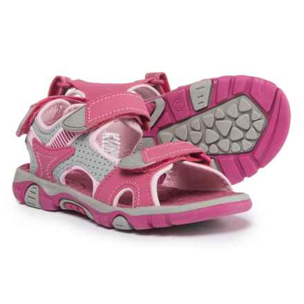 Khombu Liz Sport Sandals (For Girls) in Pink - Closeouts