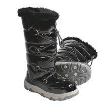 Khombu Lovely Winter Boots (For Women) in Black - Closeouts