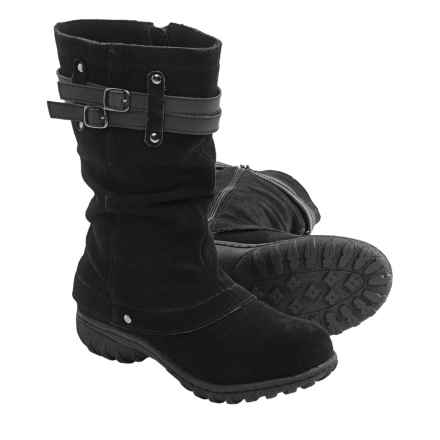 Khombu Mallory Snow Boots - Waterproof, Insulated (For Women) in Black - Closeouts