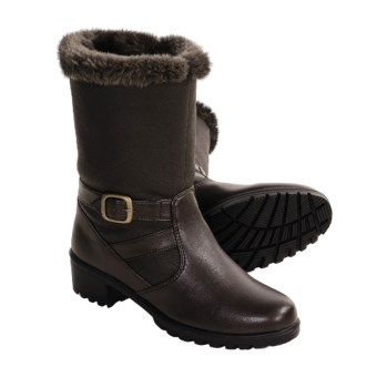 Khombu Mardi Gras Boots (For Women) in Dark Brown