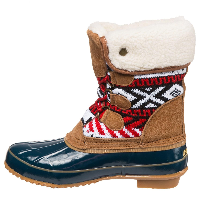 khombu mayanna duck boots for save 75