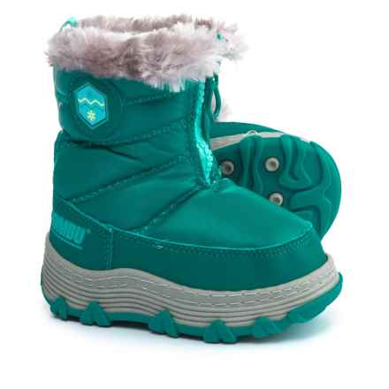 Khombu Mimi KT Snow Boots - Insulated (For Infant and Toddler Girls) in Lapis - Closeouts