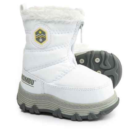 Khombu Mimi KT Snow Boots - Insulated (For Infant and Toddler Girls) in White - Closeouts