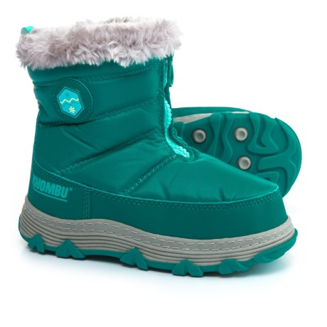 Khombu Mimi KY Snow Boots - Insulated (For Little and Big Girls) in Lapis