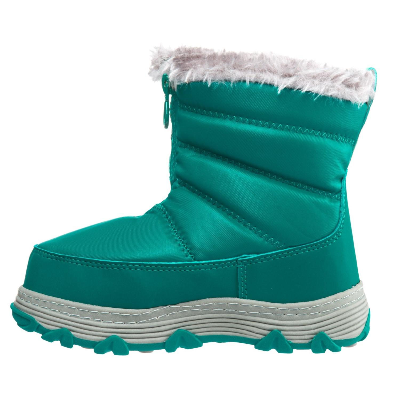 540b74223e5e Khombu mimi snow boots insulated for little and big girls a jpg 1500x1500  Girls teal snow