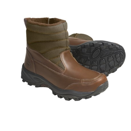 Khombu Mogul 2 Winter Boots - Waterproof (For Men) in Black