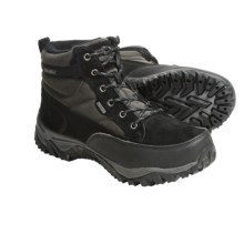 Khombu Mogul Lace Winter Boots (For Men) in Black - Closeouts