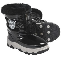 Khombu Moon Traveler Winter Boots - Weatherproof, Insulated (For Little Girls) in Black - Closeouts