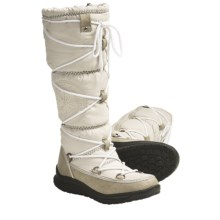 Khombu Peak Winter Boots - Weatherproof, Insulated (For Women) in Ice - Closeouts