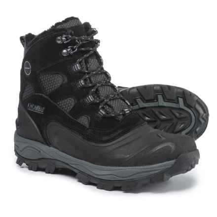 Khombu Ranger Snow Boots - Waterproof, Insulated (For Men) in Black - Closeouts