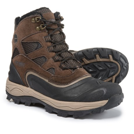 Khombu Ranger Snow Boots - Waterproof, Insulated (For Men) in Brown