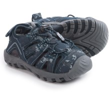Khombu Rex Print Sport Sandals (For Toddlers) in Navy Camo - Closeouts