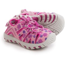 Khombu Rex Print Sport Sandals (For Toddlers) in Pink Floral - Closeouts