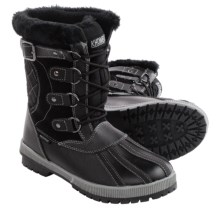 Khombu Rochelle Snow Boots - Waterproof, Insulated (For Women) in Black - Closeouts