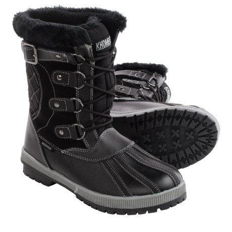 Khombu Rochelle Snow Boots Waterproof, Insulated (For Women)