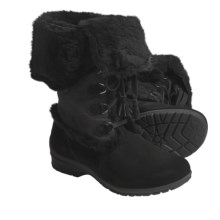 Khombu Russia 3 Winter Boots (For Women) in Black - Closeouts