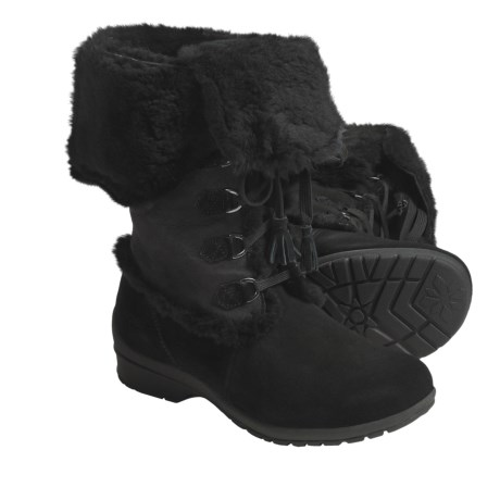 Khombu Russia 3 Winter Boots (For Women) in Black