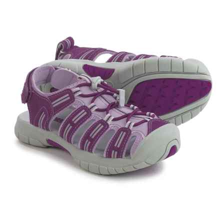 Khombu Sally Sport Sandals (For Little and Big Girls) in Purple - Closeouts