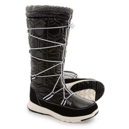 f63da09ba8270 Khombu Slalom Tall Snow Boots - Waterproof, Insulated (For Women) in Black -