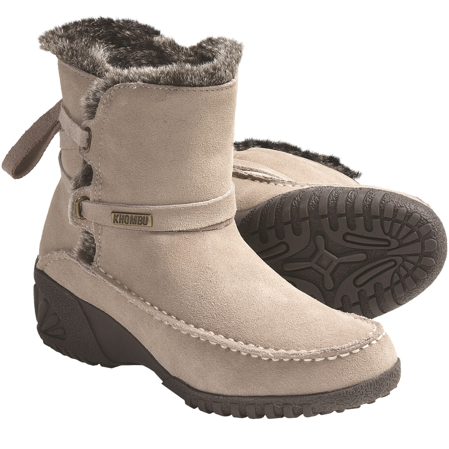 khombu snow boots suede for save 56