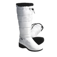 Khombu Snow Puff Winter Boots - Faux-Fur-Lined (For Women) in White - Closeouts