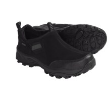 Khombu Snow Runner Winter Shoes - Slip-Ons (For Men) in Black - Closeouts