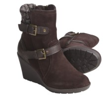 Khombu Stroll Leather Shoes - Insulated (For Women) in Dark Brown - Closeouts