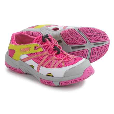 Khombu Threadfin Trail Hiker Shoes (For Little and Big Girls) in Pink - Closeouts