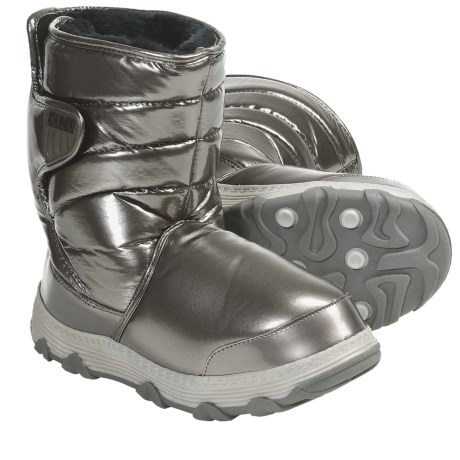Khombu Traveler 2 Winter Boots - Waterproof, Faux-Fur Lined (For Women) in Pewter