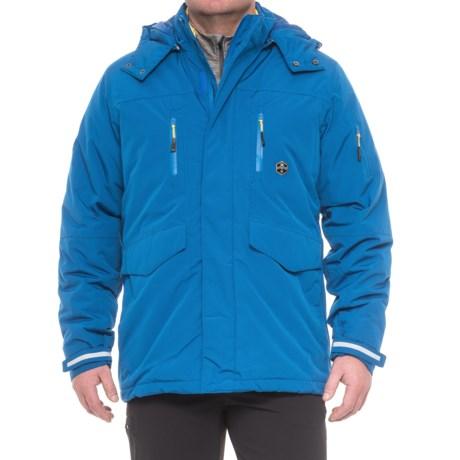Khombu Tri-Season Jacket - Waterproof, Insulated, 3-in-1 (For Men) in Snorkel Blue