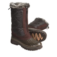 Khombu Upland 2 Boots - Waterproof (For Women) in Dark Brown - Closeouts