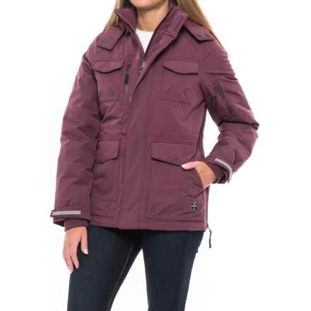 Khombu Water-Resistant Down Parka (For Women) in Eggplant - Closeouts