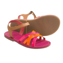 Kickers Parallelo Sandals (For Girls) in Pink Multi