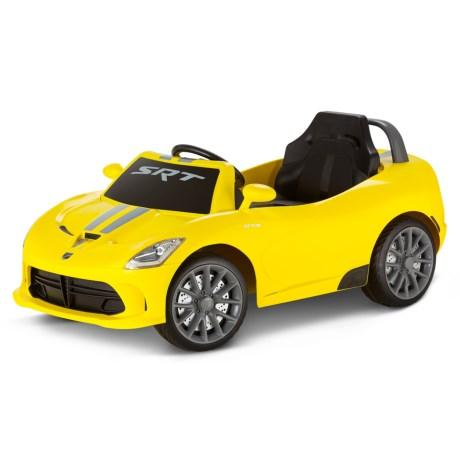 Kid Trax Dodge Srt Viper 6v Quad Ride On Car For Little Kids