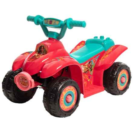 KID TRAX Elana of Avalor 6V Quad (For Little Kids) in Red - Closeouts