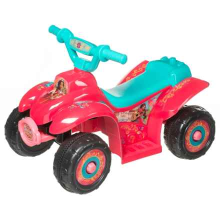 KID TRAX Elana of Avalor 6V Quad (For Little Kids) in See Photo - Closeouts