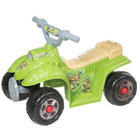 KID TRAX Teenage Mutant Ninja Turtles 6V Quad (For Little Kids) in See Photo