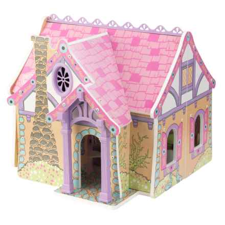 KidKraft Enchanted Forest Dollhouse in See Photo - Closeouts