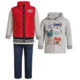 Kids Headquarters Vest, Hoodie Shirt and Pants Set - 3-Piece Set, Long Sleeve (For Infant Boys)