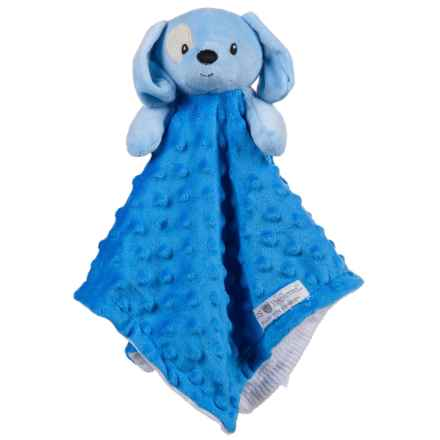 Kids Preferred Blue Puppy Blanky Security Blanket (For Kids) in Blue Puppy - Closeouts