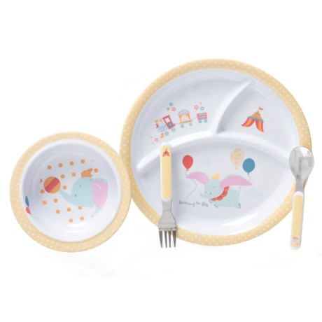 Kids Preferred Dumbo Melamine Dinnerware - 4-Piece Set (For Kids) in Dumbo  sc 1 st  Sierra Trading Post & Kids Preferred Dumbo Melamine Dinnerware (For Kids) - Save 53%