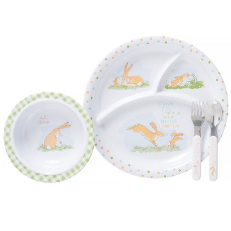 Kids Preferred Guess How Much I Love You Melamine Dinnerware - 4-Piece Set (For Kids) in Multi