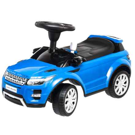 Kids Preferred Land Rover Range Rover Evoque Ride-On Car (For Kids) in Blue - Closeouts