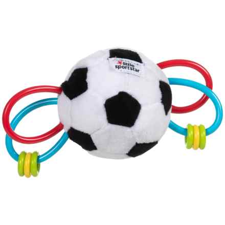 Kids Preferred Little Sport Star Plush Sensory Toy - Soccer (For Kids) in Sports Star W/Red And Blue Teethers - Closeouts