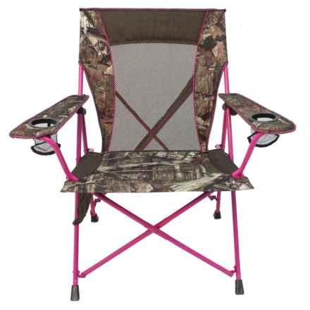 Kijaro Dual Lock Camp Chair in Mossy Oak/Pink - Closeouts