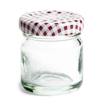 Kilner Twist Top Canning/Storage Jar - 1.35 oz. in Red - Closeouts
