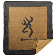 "Kimlor Comfy Dog Throw Blanket - 50x60"" in Buckmark Brown - Closeouts"